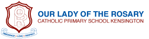 Our Lady of the Rosary Catholic Primary School Kensington Logo