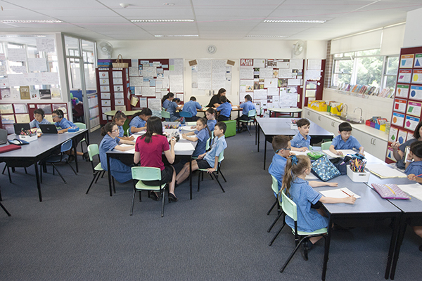 Our Lady of the Rosary Catholic Primary School Kensington classrooms