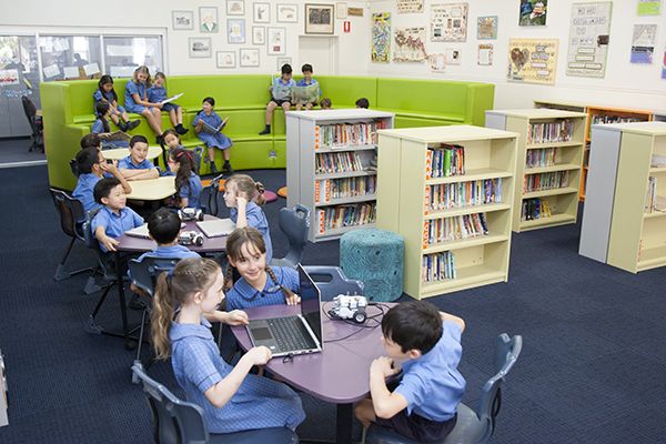Our Lady of the Rosary Catholic Primary School Kensington library