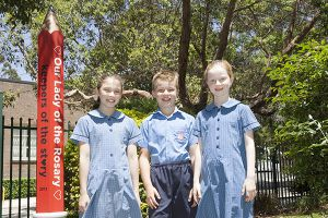 Our lady of the rosary kensington visit our school